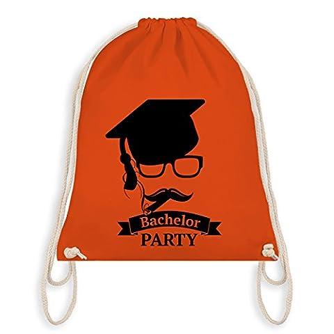 Abi & Abschluss - Bachelor Party Abschluss Studium - Unisize - Orange - WM110 - Angesagter Turnbeutel / Gym Bag