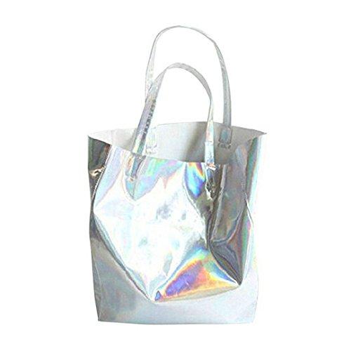 Meliya, Borsa tote donna large, Silver (argento) - YDBL-hjb168-01YA Silver