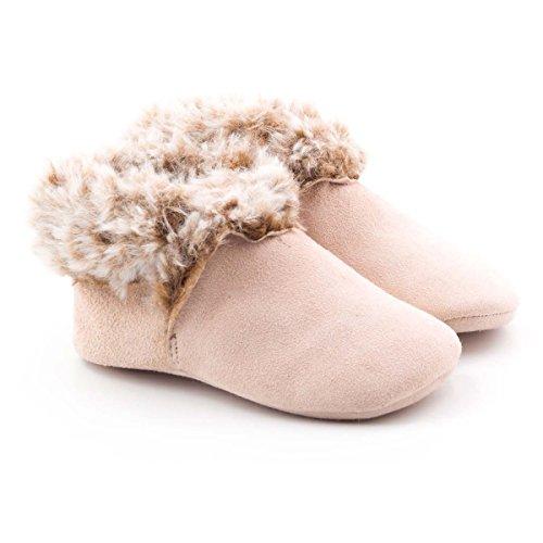 Boni Daria - chaussons bébé fourrés