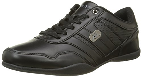 Kappa Bodze, Baskets Basses Homme Noir (Black)