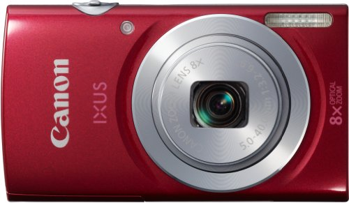 Canon Digital IXUS 145 Red