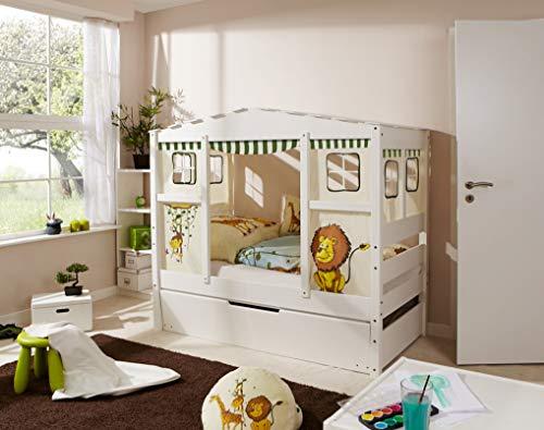Ticaa Hausbett Mini mit Bettkasten