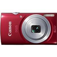 Canon IXUS 145 Digitalkamera (16 Megapixel, 8-fach opt. Zoom, 6,8 cm (2,7 Zoll) LCD-Display, HD-Ready) rot