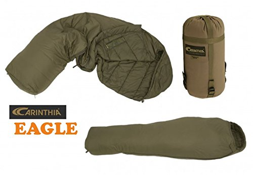Carinthia Schlafsack Eagle OLIV Bundeswehr Survival -5 bis +10 Grad Kompakt