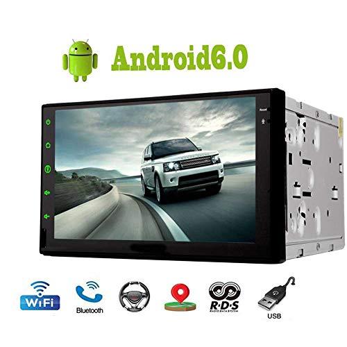 EINCAR Double 2 Din Android 6.0 Betriebssystem mit 7 Zoll kapazitiver Touch Screen 1080P HD Video NO Auto-DVD-CD-Player im Schlag GPS-Navigation Unterstützung Bluetooth AM FM RDS Radio-OBD2 Mirro