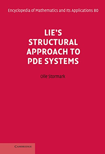 Differential equations page 3 mates library read e book online lies structural approach to pde systems encyclopedia of pdf fandeluxe Image collections