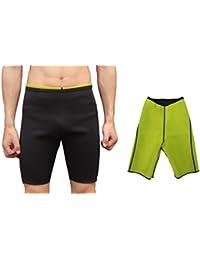 NOVECASA Gilet Pantalon Sauna Homme Néoprène Sauna Costumes Shorts Body  Shaper Perspire Gymnastique pour la 96e1facf448