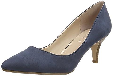 ESPRIT Pyra Pump, Escarpins Femme, Bleu (400 Navy), 38 EU