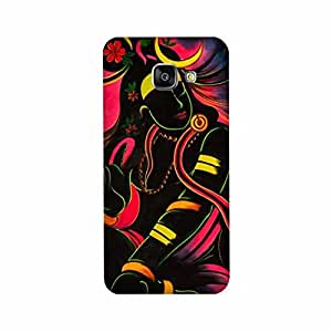 Yashas High Quality Designer Printed Case & Cover for Samsung Galaxy A7 (2016 Model) (Lord shiva)