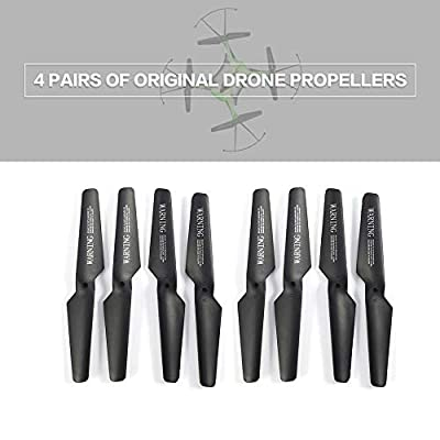 Familyhan 4 Pairs of Drone CW/CCW Propellers for JJR/C H31 GoolRC T6 RC Quadcopter