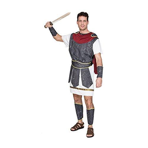 �mischer Soldat Kostüm, groß (Fuß Soldaten Kostüm)