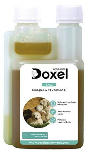 Doxel 4all-500ml Aceite para perros| Suplemento natural | Sistema Inmunitario reforzado| Articulaciones...