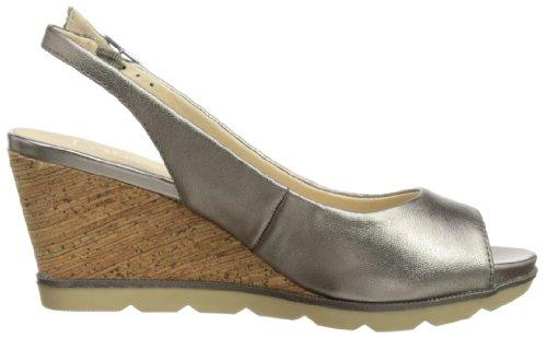 Lotus  Maron,  Damen Durchgängies Plateau Sandalen mit Keilabsatz Grey (Pewter)