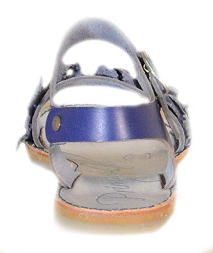 Primigi-Primigi Sandaletti Enfant Buckle 83301 Cuir Bleu Bleu - bleu