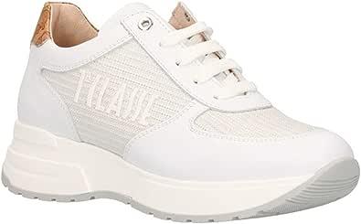ALVIERO MARTINI Prima Classe Scarpe da Donna Casual Sneaker Beige Stampa Geo