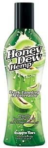 Supre Tan Honey Dew Hemp Dark Tanning Maximiser with Natural Hemp Seed Oil 235ml