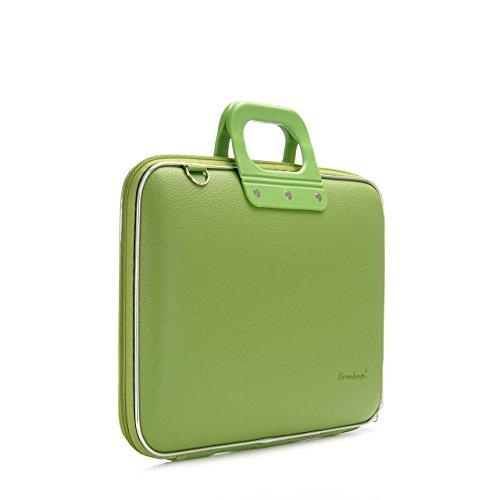 Bombata Classic Laptoptasche, 43,2 cm (17 Zoll), grün (Schwarz) - BOM-E00332-Green-CA -