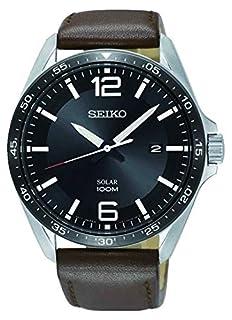 Seiko Unisex Adult Analogue Quartz Watch with Leather Strap SNE487P1 (B07N1VH72H) | Amazon price tracker / tracking, Amazon price history charts, Amazon price watches, Amazon price drop alerts