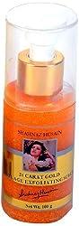Shahnaz Husain 24 Carat Gold Anti Age Exfoliating Scrub, 100g With Free Ayur Product