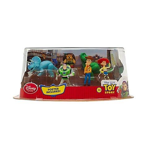 (Disney, Toy Story - Figuren-Set aus Plastik - Mit dabei sind Buzz, Jesse und Sepp Stachel.)