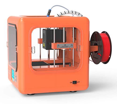 EasyThreed 3D Drucker | Dora| druckt autark, ohne PC (Orange) - 6