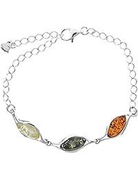 Nature d'Ambre - Bracelet - Argent 925 - Ambre - 19 cm - 31812239RH