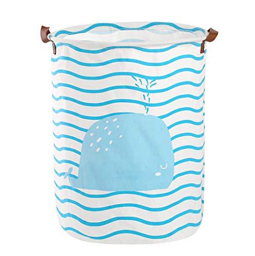 ufbewahrungsbox Ablagekorb wasserdichte PE-Beschichtung aus Baumwolle (C) ()