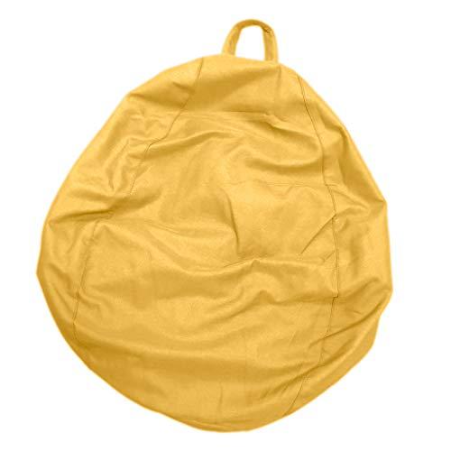 KESOTO Sitzsackhülle (nur Hülle) - Golden