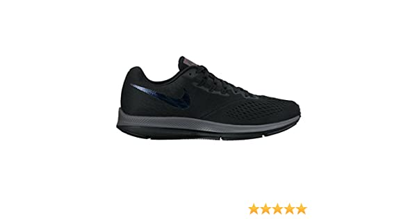 b4f7738c685b Nike New Men s Air Zoom Winflo 4 BTS Running Shoe Black Dark Grey 10.5   Amazon.in  Shoes   Handbags