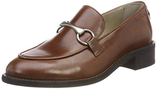 Marc O'Polo Damen Loafer Mokassin, Braun (Cognac 720), 38 EU (Loafer Mokassins Für Frauen)