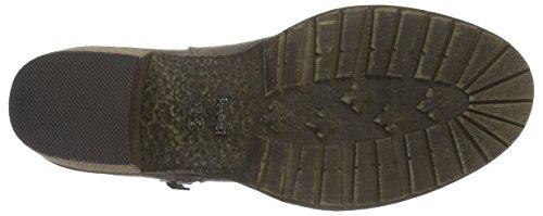 Buffalo B241f-42 P2066c Pu, Bottes Classiques femme Gris - Grau (Taupe 01)
