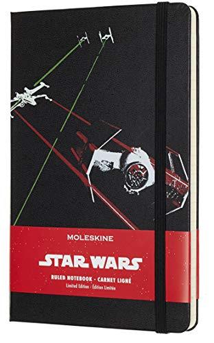 Moleskine Noitzbuch (Star Wars, L/A5, Liniert, Hard Cover) schiff