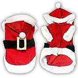 Weihnachten Hund Kleidung für Kleine Hunde Santa Hund Kostüm Haustier Mantel Pudel Yorkies Chihuahua Kleidung
