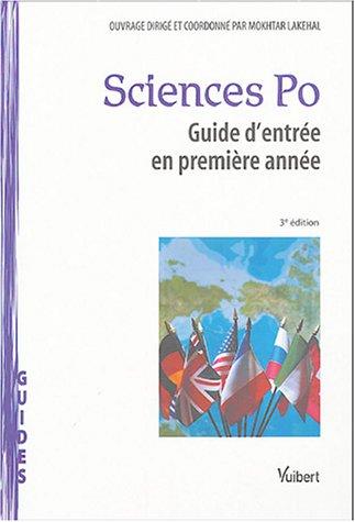 Sciences-Po : Guide d'entrée en première année