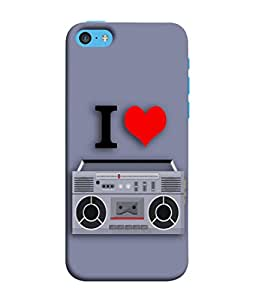 Apple iPhone SE Back Cover World Radio Day Vector Illustration Design From FUSON