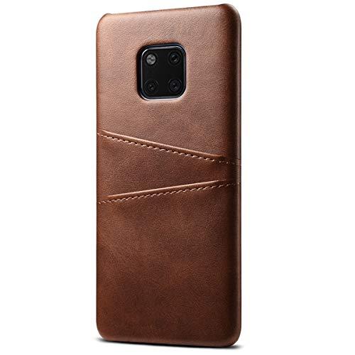 La caja del teléfono delgado con ranuras para tarjetas para Huawei mate 20 / el compañero 20 Pro / P20 / P20 Pro / P10 / P10 Plus / mate delgada 10 StyleWithout voluminosos Feel.Made de calidad, duradero y Feeling.This suaves caso es lo suficientemen...