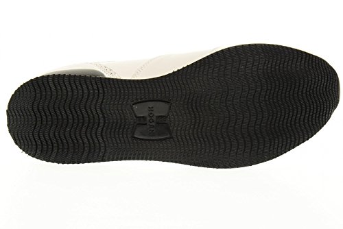 HOGAN Schuhe gleiten auf HXW2220X170DZF016U H222 Mocassino FRANSEN Weiß