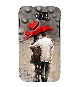 PRINTSWAG LOVE COUPLE Designer Back Cover Case for MICROMAX A110 CANVAS 2