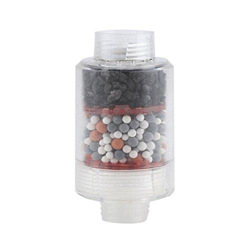 Bad Wasserfilter, Universal Duschkopf Filter Dusche Wasserfilter Hause Wasserfilter Enthärter Chlor Schwermetallentferner, Einfach zu Installieren (Wasser-test-kit Zu Hause)