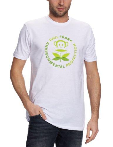 Paul Frank Herren T-shirt Pf Enviromental Protection White