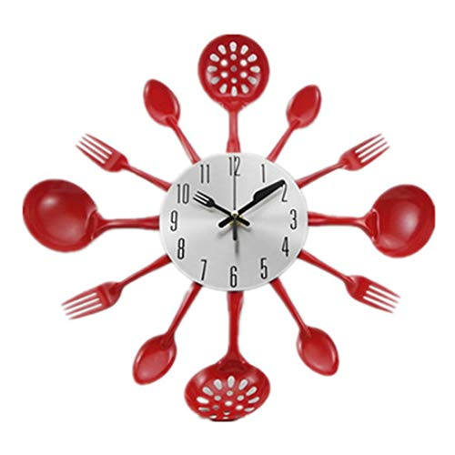 GANADA Reloj de Pared Grande 41.5cm Reloj Pared Moderno Reloj Silencioso Decoración...
