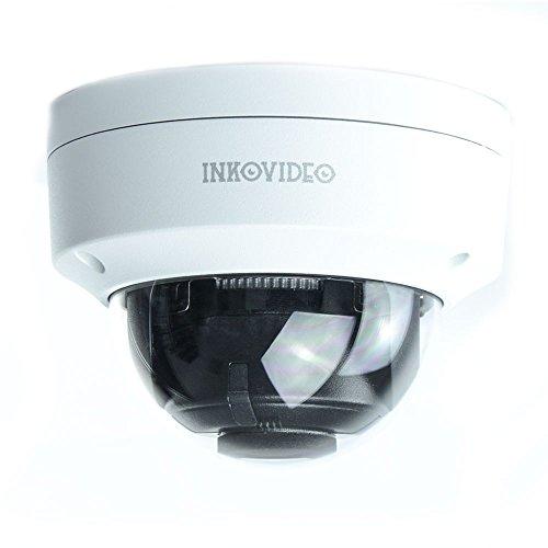 INKOVIDEO V-111-8MW 8MP 4K PoE ONVIF Netzwerk Überwachungskamera mit Nachtsicht bis 50m Videoüberwachung (weiß) H. 264 Dvr-board