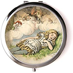 Taschenspiegel mit cabochon ° Alice °