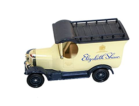 Vintage 1983 Lledo Days Gone 1-64 Scale Diecast Replica 1920 Ford Model T Delivery Van Elizabeth Shaw Chocolates Promotional Model - Former Shop Display