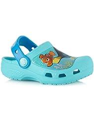 Crocs - Sandalias de vestir para niña azul azul