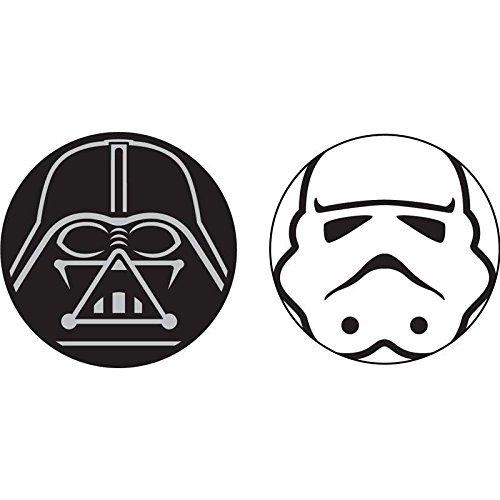 Disney Star Wars Antenne und Bleistift Topper, Unisex-Erwachsene, Star Wars Darth Vader Storm...