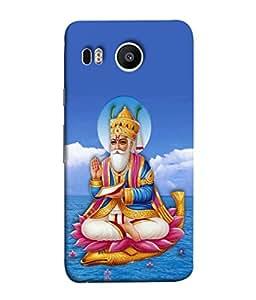 Fuson Designer Back Case Cover for LG Nexus 5X :: LG Google Nexus 5X New (Bhagwan God Prabhu)