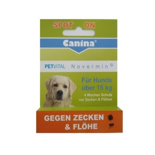 Canina 14200 2 Petvital Novermin für kleine Hunde