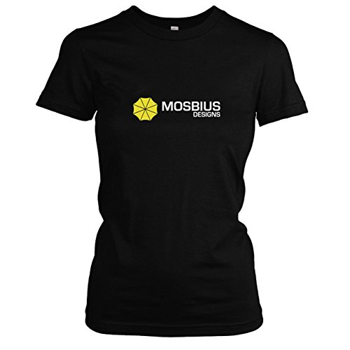 TEXLAB - HIMYM: Mosbius Designs - Damen T-Shirt, Größe M, (Himym Kostüm Ted)