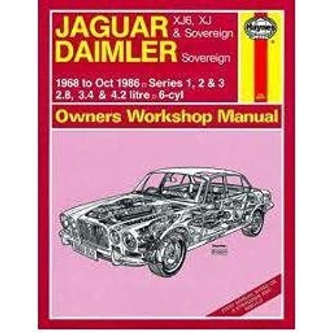 [Jaguar XJ6 and XJ Sovereign/Daimler Sovereign 1968-86